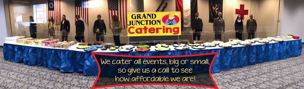 We cater all events, big or small, so give us a call to see how affordable we are!